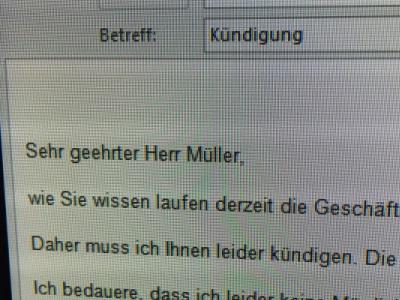 Dawr Kündigung Per E Mail Darf Mein Chef Mich Per E Mail Kündigen