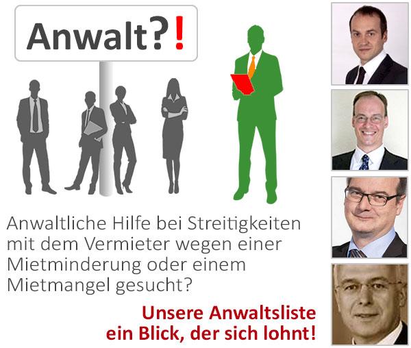 Dawr 10 Wichtige Tipps Zur Mietminderung Deutsches Anwaltsregister