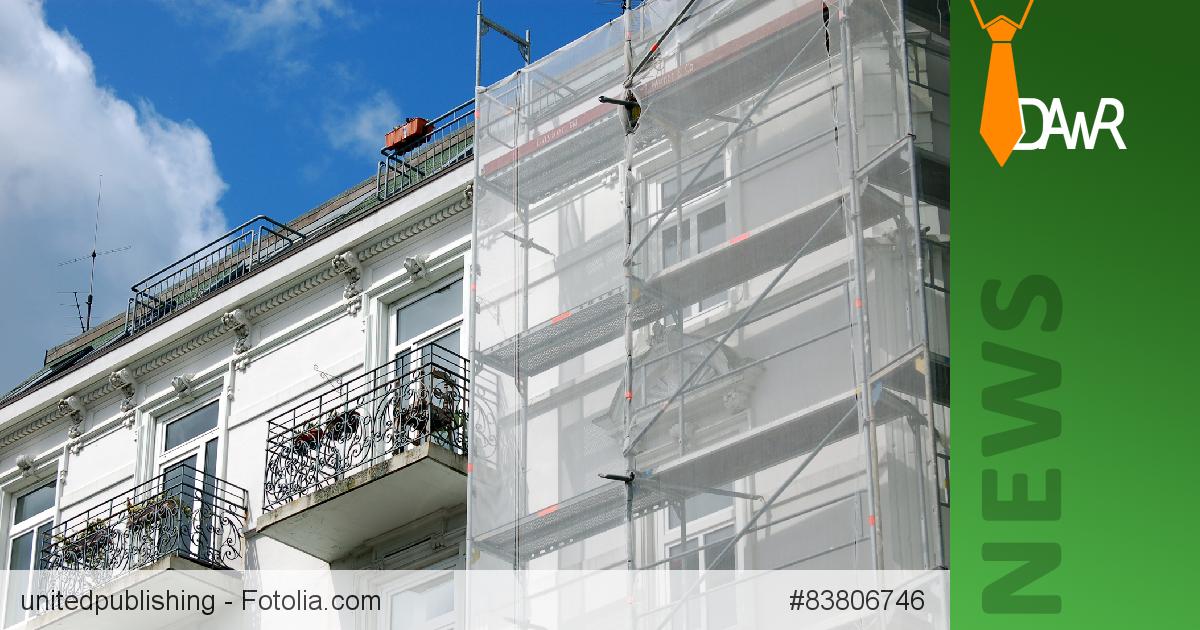 dawr nachtr glicher anbau von balkonen modernisierungsma nahme kann mieter zur mietminderung. Black Bedroom Furniture Sets. Home Design Ideas