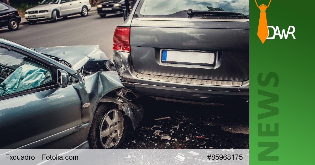 schuld frage bei autounfall