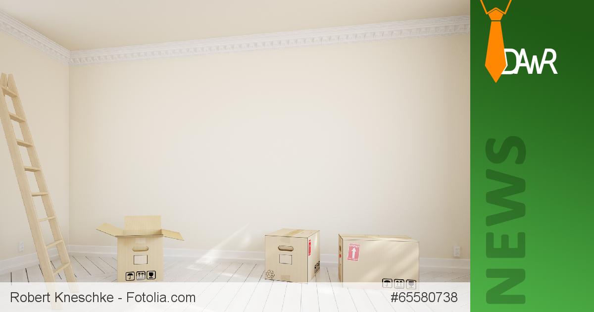 dawr wohnung muss bei auszug ger umt bergeben werden. Black Bedroom Furniture Sets. Home Design Ideas