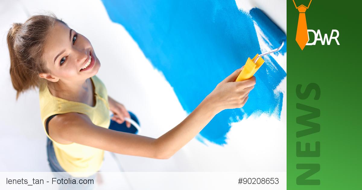 Wohnung Streichen Wie Oft :  Farbige Wände Darf ein Mieter seine Wohnung streichen wie er will